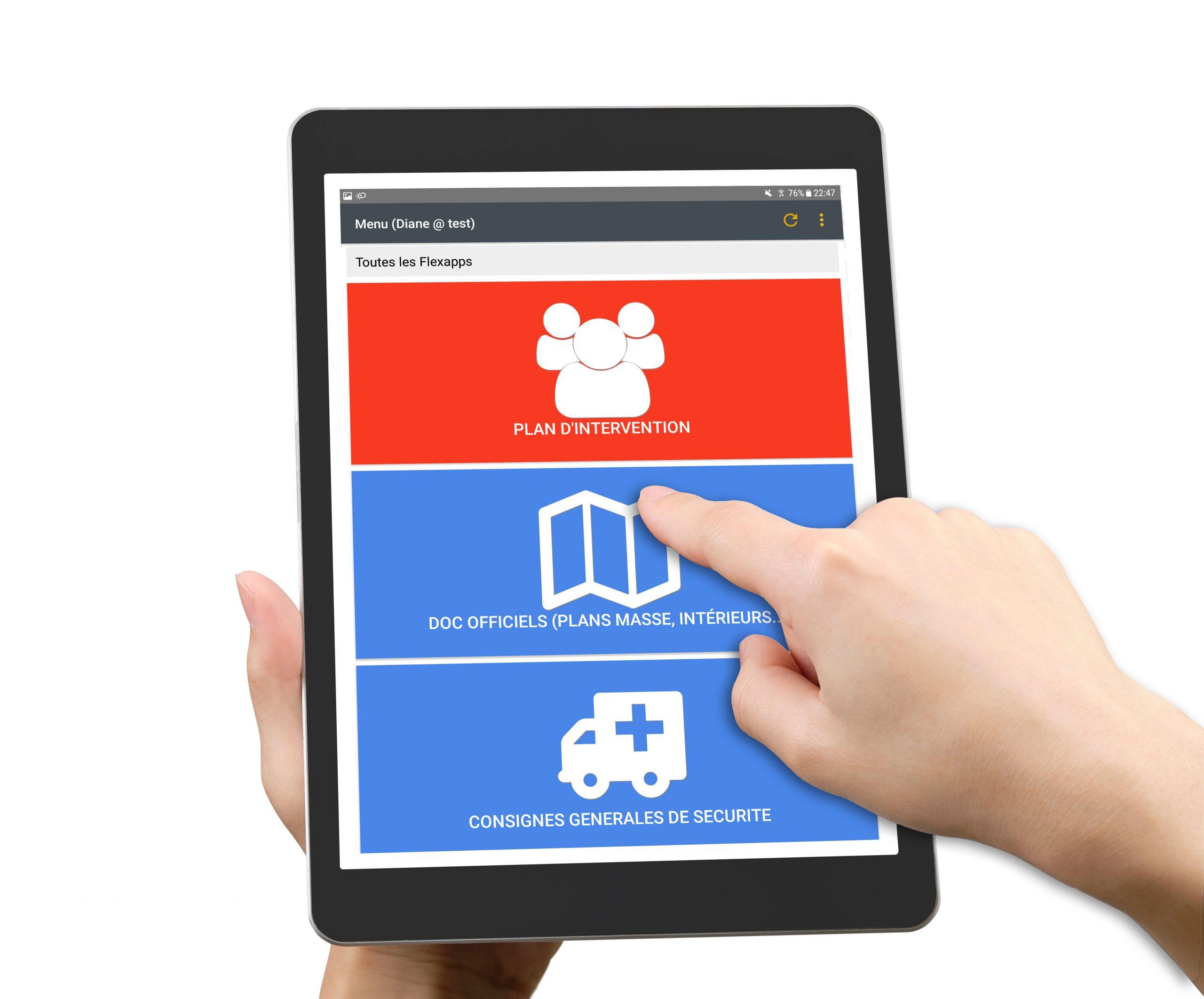 Plan de prevention application mobile