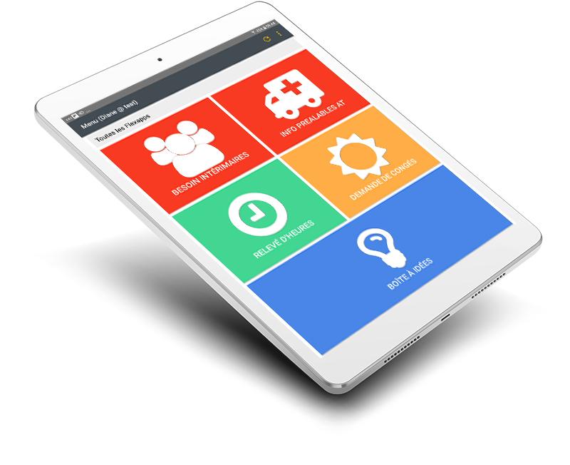 gestion des ressources humaines et de l'administratif application mobile