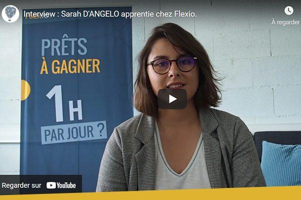 capture vidéo Sarah